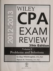Cover of: Wiley CPA examination review | Patrick R. Delaney