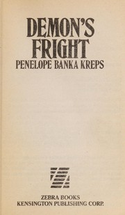 Cover of: Demon's Fright | P. B. Kreps