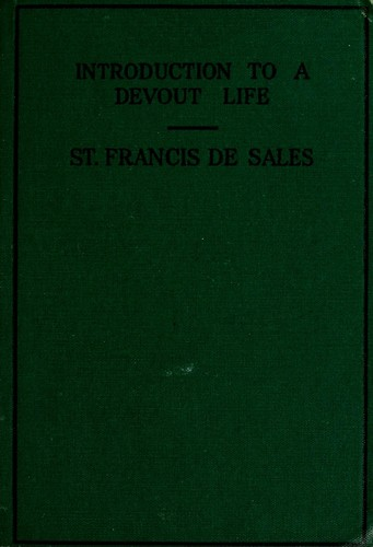 Introduction to a devout life by Francis de Sales