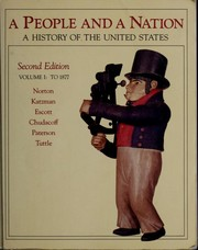 Cover of: A People and a Nation: A History of the United States