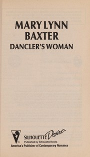Cover of: Dancler'S Woman | Baxter