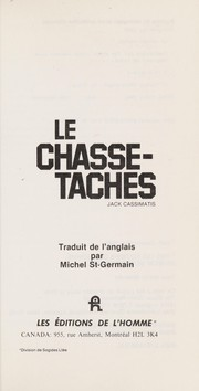 Cover of: Le chasse-taches