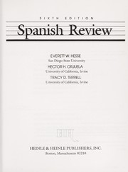 Cover of: Spanish review