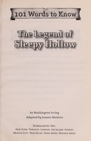 Cover of: The legend of Sleepy Hollow | Joanne Mattern