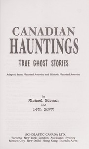 Cover of: Canadian hauntings