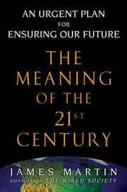 Cover of: The meaning of the 21st century