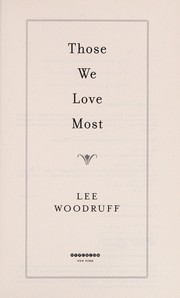 Cover of: Those we love most