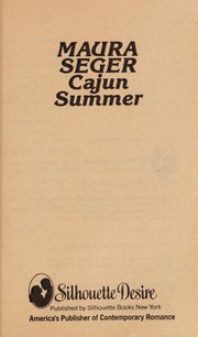 Cover of: Cajun summer