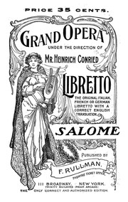 Cover of: Salome