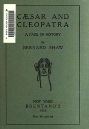 Cover of: Caesar and Cleopatra: a history