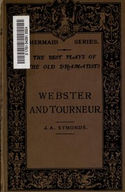 Plays by John Webster, Cyril Tourneur
