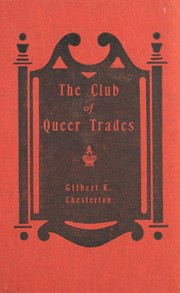 Cover of: The Club of Queer Trades