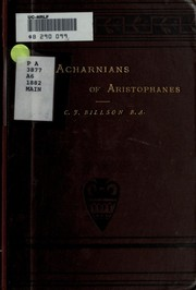 Cover of: Acharnians