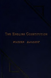 Cover of: The English constitution