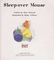 Cover of: Sleep-over Mouse (My First Reader) |