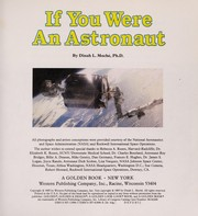 Cover of: If you were an astronaut | Dinah L. Moché