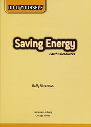 Cover of: Saving energy: earth's resources