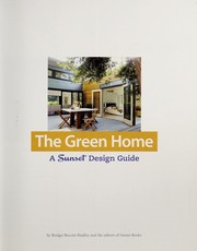 Cover of: The green home