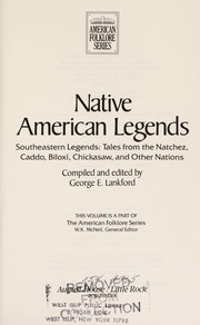Cover of: Native American legends | George E. Lankford