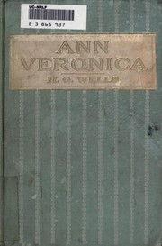 Cover of: Ann Veronica: a modern love story
