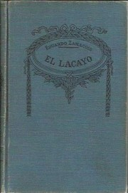 Cover of: El lacayo: novelas cortas