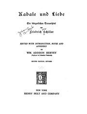 Cover of: Kabale und Liebe