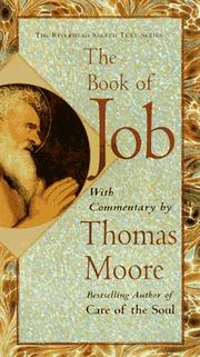 Cover of: The book of Job | Moore, Thomas