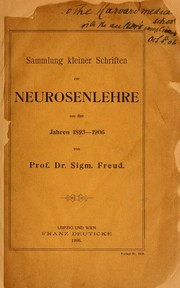 Collected papers by Sigmund Freud