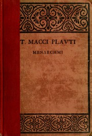 Cover of: Menaechmi