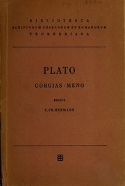 Cover of: Gorgias