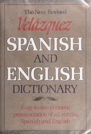 Cover of: Pronouncing dictionary of the Spanish and English languages