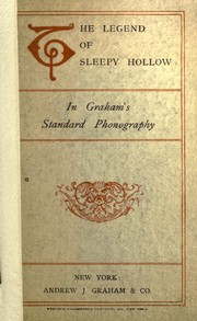 Cover of: The Legend of Sleepy Hollow