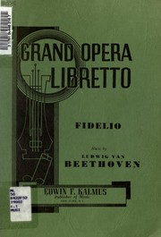 Cover of: Fidelio | Ludwig van Beethoven