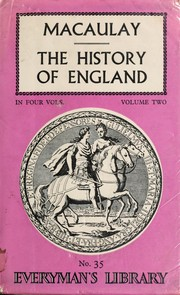 Cover of: The History of England from the Accession of James II