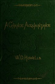 Cover of: A chance acquaintance