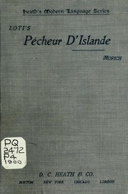 Cover of: Pêcheur d'Islande