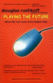 Cover of: Playing the Future