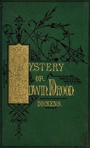 Cover of: The mystery of Edwin Drood | Charles Dickens
