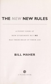 Cover of: The new new rules | Bill Maher