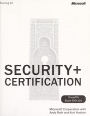 Cover of: Security+ certification |