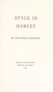 Cover of: Style in Hamlet