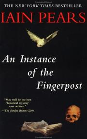 Cover of: An instance of the fingerpost