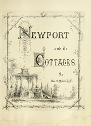 Cover of: Newport and its cottages | George C. Mason