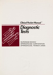Cover of: Diagnostic tests