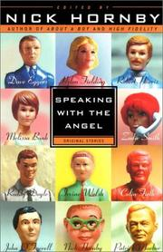 Cover of: Speaking with the angel |
