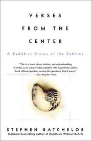 Cover of: Verses from the Center: A Buddhist Vision of the Sublime