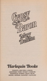 Cover of: Gypsy Baron