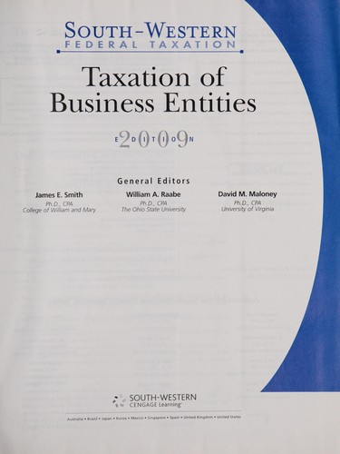 Individual taxation by [editors] James W. Pratt, William N. Kulsrud ; contributing authors, Gregory A. Carnes [et al.].