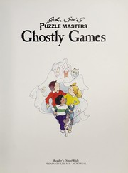 Cover of: Ghostly games