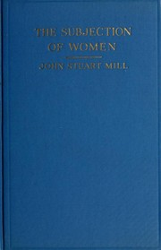 Cover of: The subjection of women